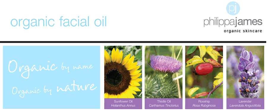 Philippa James Organic Facial Oils